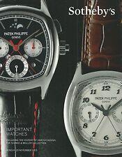 SOTHEBY'S GENEVA WATCH Breguet Franck Muller Patek Rolex Swatch Design Catalog