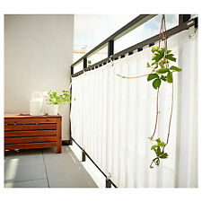 Ikea Dyning windbreak, sun shade balcony wind protector WHITE  NEW