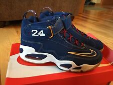 Nike Air Griffey Max 1 Prez QS Ken Griffey Blue Gum White Red 853014 400 Sz 8.5