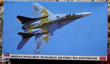 Hasegawa MIKOYAN-29 Fulcrum Hungarian Air Force. 1:72nd scale. NEW