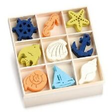 Box of 45 FELT SHAPES ORNAMENTS Ocean Paradise 8001 231
