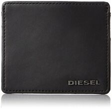 Diesel Wallet X03365 PR478 H5856 Card Holder Black With Green Slots