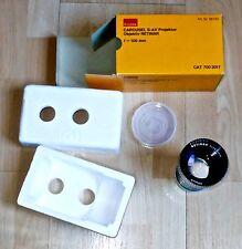 Neue Dia Projektionsobjektive Kodak Retinar 100mm Carousel S-AV slide lenses NEW