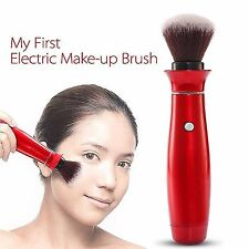 Electric 360° Rotating Head Makeup Brush Soft Make Up Tool Pro Face Powder Brush