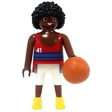 Playmobil  - Figures serie 2 Basketball jugador balon cesto Player 5157