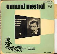 """ARMAND MESTRAL """"LA CHANSON DES PEUPLIERS"""" 60'S EP PHILIPS 432.311"""