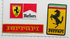 Ferrari de Fórmula Uno Patch Collection, Set De Tres fully-embroidered - #s 17