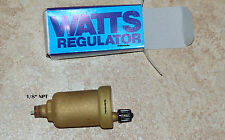 (4) WATTS FV-4z REGULATOR HYDRONIC AUTOMATIC AIR VENT BLEEDER