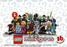 LEGO 8827 Mini-figures Series 6 Sealed Case (Box of 60)
