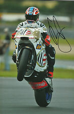 Shane Byrne Hand Signed Aprilia 12x8 Photo World Superbikes.