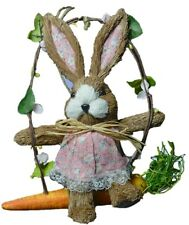 Easter Decoration Hanging Bunny Hanging Rabbit With Carrot