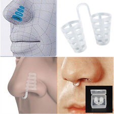 Anti Snoring Breathe Easy Sleep Aid Nasal Dilators Device No Strips Nose Clips