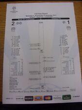 23/11/2011 Bayer Leverkusen v Chelsea [UEFA Champions League] Full Time Report,