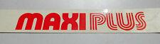 Puch Abzug Aufkleber  Maxi Plus in Rot Fahrwerk & Rahmen und Moped- & Mokick