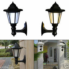 Solar Power LED Light Path Way Wall Landscape Mount Garden Fence Lamp Outdoor us