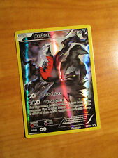 FULL ART Pokemon Mythical DARKRAI Card Black Star PROMO XY114 Set Collection Box