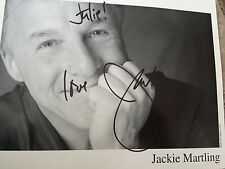 10x8 Hand Signed Photo of Comedian Jackie Martling - The Howard Stern Show