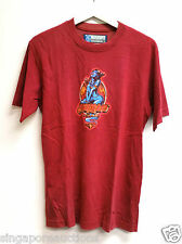 VINTAGE MAMBO - BLUE FEMALE GENIE MAGIC LAMP GRAPHICS RED T-SHIRT CHEAP! $5!