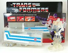 Transformers Optimes Prime G1 transformer Reissue Trasparente Ver. Action Figure