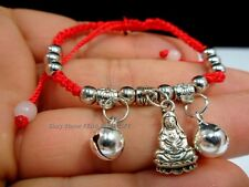 12x LOT - Kwan Guan Yin Buddha Bead Chinese Good Luck Love Charm String Bracelet