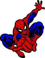 "Spider-Man Cartoon Car Bumper Sticker Decal 4"" x 5"""