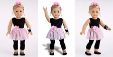 NEW AMERICAN GIRL OUR GENERATION 18 DOLL DREAMWORLD SHOW TIME BALLET TUTU SHOES