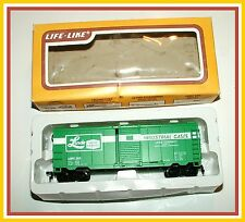 Life-Like HO Scale: Linde _ 40' Steel Door Box Car _ (MIB) ** Must See **