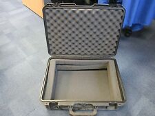 Used Peli Storm Case iM2600 Waterproof Protective Briefcase Hard Black with foam