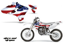 AMR Racing Yamaha YZ 250F/450F Shroud Graphic Kit MX Bike Decals 03-05 USA FLAG