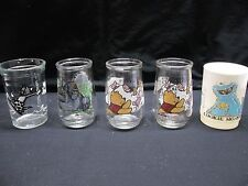 Cup Lot-Welch's Tom & Jerry, 2-Pooh's Grand Adventure, Gorilla & Cookie Monster