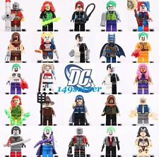 24pc SET Deadshot Joker harley quinn Batman suicide squad Custom Lego MiniFigure
