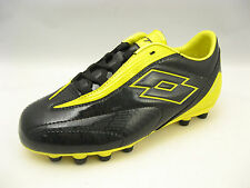 Lotto Boys Mens Fuerzapura L500 Jr Soccer Cleats Size 6.5 Black Yellow N138
