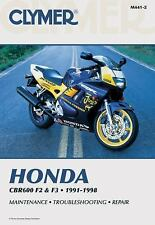 Clymer Honda: Cbr600 F2 and F3 1991-1998, , Acceptable Book