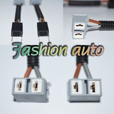 2 pc Car H7 Ceramic Headlight Socket Wire Harness Extension Adapter