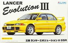 Fujimi ID-34 Mitsubishi Lancer Evolution III GSR 1/24 scale kit