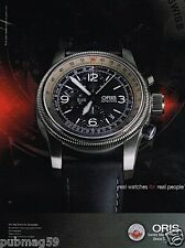 Publicité advertising 2011 La Montre Oris Big Crown