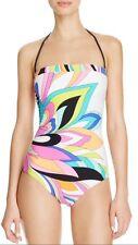 NWT $140 Sz 8  Trina Turk St.Tropez Bandeau One-Piece Swimsuit