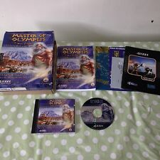 Zeus Master of Olympus PC BIG BOX Version Game SIERRA