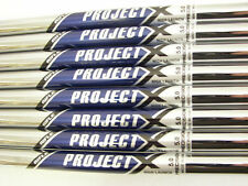 NEW Rifle Project X  3-PW Set of 8 Hi Launch Shafts 5.0 HL Regular+370 Parallel
