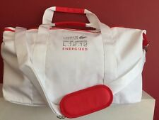 LACOSTE L.12.12.Energized Bag White Sports, Weekend, Gym, Holdall NEW!!