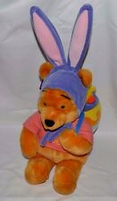 """NWT-NEW-DISNEY STORE EX-18"""" EASTER WINNIE THE POOH-PLUSH W/ BACKPACK,CHICK & EGG"""