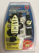 Ziplinq Retractable USB Cell Phone Charger For LG Sanyo Samsung Kyocera Motorola