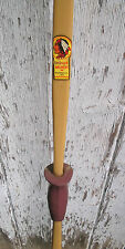 "Vintage Indian Archery Fiberglass Long Bow 62"" Evansville Ind. R or L Handed"