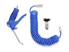 LKW Druckluftpistole Spiralschlauch inkl. Ausblaspistole Luftpistole  10Kg/cm²