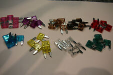 45 MINI BLADE CAR FUSES(3A/4A/5A/7.5A/10A/15A/20A/25A/30A -5 OF EACH-(45)
