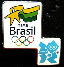 London 2012 rare BRAZIL Olympic NOC Delegation Team pin