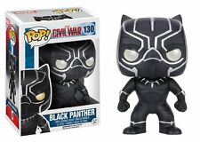 Funko POP! Vinyl Civil War - Black Panther Bobble Head Figurine Model No 130