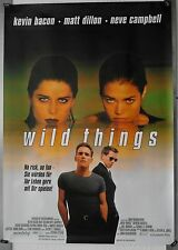 DS721 - Gerollt/KINOPLAKAT - WILD THINGS 1998 Kevin Bacon, Matt Dillon, Neve Cam