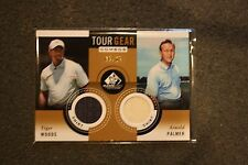 2014 SP Game Used Tour Gear Dual Gold #TG2TA Tiger Woods/Arnold Palmer
