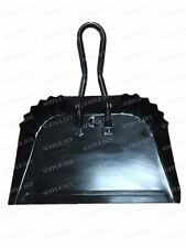 Industrial Metal Strong Dustpan Flat Steel Builders Scoop Ash Dust Pan